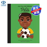 英文原版 小男孩,大梦想:球王贝利 Pele 绘本 精装 名人传记 Little People, Big Dreams