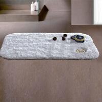 棉长毛地垫地巾酒店浴室脚垫门垫加厚棉吸水地毯防滑垫 600mmx900mm