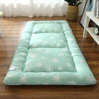 20190212070320717加厚榻榻米床垫床褥单人学生宿舍0.9m床垫褥子1.2m米折叠地铺睡垫 180x200