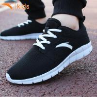 安踏童鞋儿童运动鞋2018夏季新款男童透气跑步鞋学生中大童休闲鞋