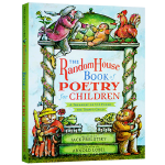 兰登儿童插画诗歌集 英文原版 The Random House Book of Poetry for Children