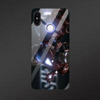 复仇者联盟小米8钢铁侠手机壳MIX3创意红米note7保护套小米mix2s