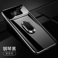 三星S8手机壳S9玻璃S8+保护套S9+全包边plus防摔SM-G9500硬壳9550男女款G950
