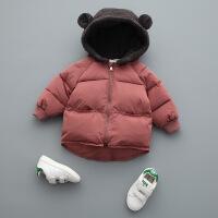 №【2019新款】冬天儿童穿的男童宝宝棉衣外套洋气1冬装3岁儿童小童女加厚羽绒棉袄潮