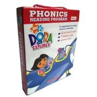 Dora The Explorer Phonics Fun Pack #1 with CD  朵拉探险记自然拼读法套装1(附CD) ISBN9780545732567