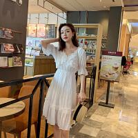茉蒂菲莉 卫衣 女士秋季新款连衣裙女式长袖韩版宽松中长款连帽外套薄款时尚休闲女装