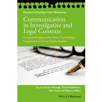 【预订】Communication in Investigative and Legal Contexts - Int