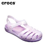 【仅限5.14日】Crocs女童凉鞋 卡骆驰伊莎贝拉夏季女儿童沙滩鞋公主鞋|204035 伊莎贝拉小童凉鞋