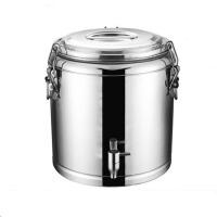 保温桶商用不锈钢汤桶大容量饭桶水龙头双层奶茶桶茶水桶