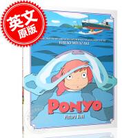 预售 宫崎骏 悬崖上的金鱼姬 波妞 绘本故事书 英文原版 Ponyo Picture Book 精装 Hayao Mi