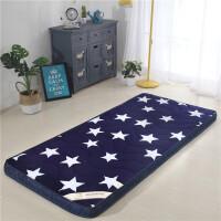 加厚寝室床垫床褥0.9床1.8m单人1.2米1.5米学生床垫海绵地铺垫被