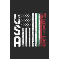 【预订】USA Mexico: Graph Paper Notebook - Gift Idea For Cinco