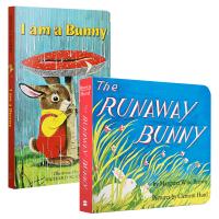 我是一只兔子 I Am a Bunny 英文原版 The Runaway Bunny 廖彩杏书单推荐 美国百本绘本儿童