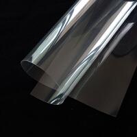 玻璃贴纸碎窗户家用鱼缸茶几浴室淋浴房移门透明钢化玻璃家用玻璃贴膜碎膜 4mil加厚1.1mx1m