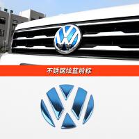 大众途观L车标贴10-17款途观专用前后车标进口tiguan配件不锈钢