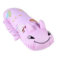 圣诞节礼物全纯棉沙发睡觉毛毛虫抱枕头儿童可拆洗小圆形靠垫长条