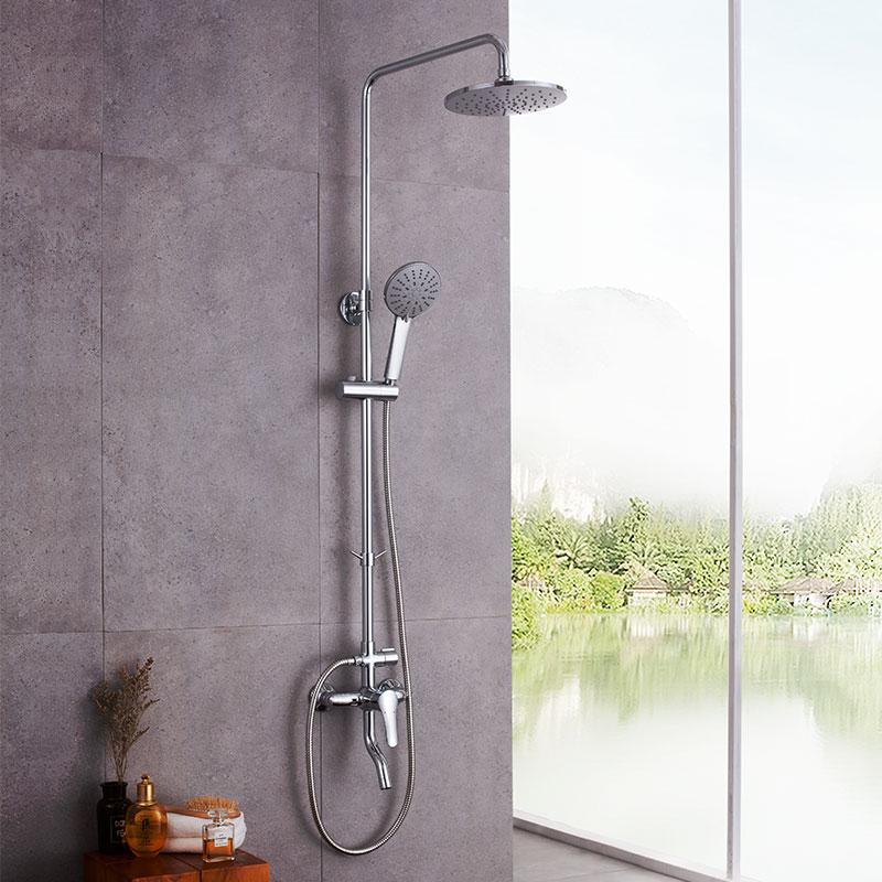 淋浴花洒套装 淋雨喷头卫生间浴室冷热沐浴器经典3系
