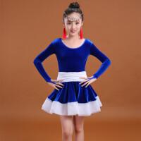 新款儿童拉丁舞比赛服女少儿舞蹈练功服女童拉丁舞表演服装