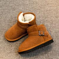 儿童雪地靴子2018新款秋冬季女童鞋男童防水加厚加绒保暖短靴