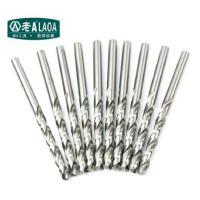 老A(LAOA) 不锈钢钻头 M2高速钢全磨制麻花钻头 3.4-5.7mm金属钻 10支装
