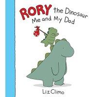【现货】英文原版 Rory the Dinosaur: Me and My Dad 英文原版 罗伊小恐龙:我和老爸 《