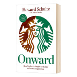 一路向前 英文原版 人物传记 Onward 星巴克创始人 霍华德舒瓦茨自传 英文版 进口原版英语书籍