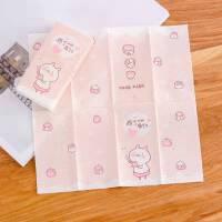 卡通印花手帕纸小包便携式纸巾随身装可爱印花卫生纸餐巾纸面巾纸