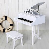 ?音乐之星儿童钢琴木质30键玩具小钢琴启蒙乐器早教生日礼物可弹奏