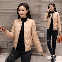 小棉袄女短款2018新款冬装韩版轻薄百搭羽绒修身时尚棉衣外套