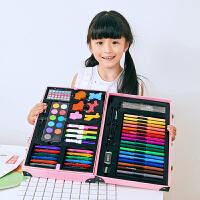 水彩笔套装儿童绘画套装手绘18色颜色笔小学生24色彩色笔蜡笔油画棒印章画笔