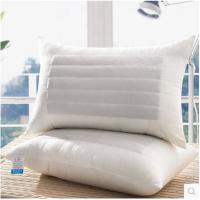 一个价钱一对拍两个枕头枕芯两用单人荞麦枕芯学生羽丝绒