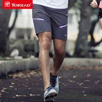 探路者速干短裤 春夏弹力透气轻薄舒适运动跑步裤KAMF81418