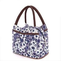 便当袋妈咪包 小号饭盒袋 带饭午餐包饭盒包 帆布手提包便当包