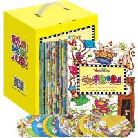 欧美经典儿歌wee sing全集18册附赠光盘3-6岁儿童英语启蒙早教幼儿园大小中班教材宝宝培养双语礼盒装套装书籍