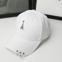 时尚韩版夏天遮阳防晒女士太阳五角星鸭舌棒球帽子LCQ 可调节