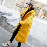 反季棉衣服女韩版学生面包服女中长款宽松bf冬季外套加厚