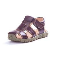 男童凉鞋2019新款夏季韩版包头儿童鞋中大童软底真皮宝宝沙滩小孩