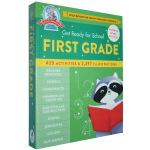 Get Ready for School First Grade 入学准备 1年级精装综合活动练习册 语法科学加减法等