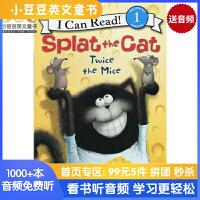 #Splat the Cat: Twice the Mice啪嗒猫系列:两只老鼠【4-8岁】