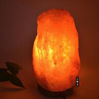 盐灯水晶盐灯玫瑰盐灯喜马拉雅s级可调光台灯卧室床头灯装饰