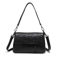 女士包包2018新款真皮女包斜挎包软皮手提包小包单肩包中年妈妈包SN8143