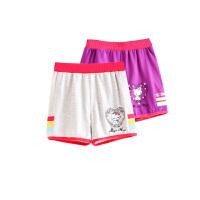 女童短裤儿童女孩宽松运动裤宝宝针织裤子新款童装