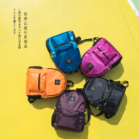 韩版旅行收纳包背包多功能男女学生书包户外皮肤包便携折叠双肩包