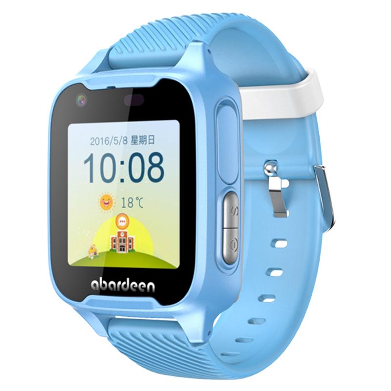 阿巴町儿童智能电话手表4g视频通话GPS定位男女孩学生表防水手表 视频通话 GPS定位