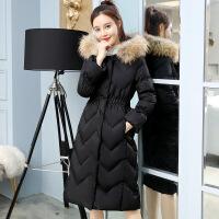 2018冬季新款女装ins服中长款过膝韩版修身服外套