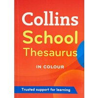 英文原版 Collins School Thesaurus