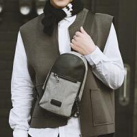 2018日系韩版撞色胸前包 休闲户外骑行斜跨包 时尚街头ipad手机包