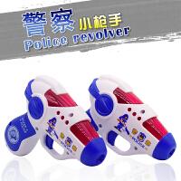 男孩子1-2-3周岁益智力玩具小手枪儿童警察声光投影电动4-5-6宝宝