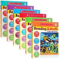 学乐英语阅读与数学练习册6册 英文原版 Scholastic Reading Math Jumbo Workbook