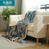 珊瑚绒羊羔绒毛毯加厚法兰绒毯子单双人午睡空调被双层儿童毯床单